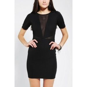 Lucca Couture Short Sleeve Bodycon Mini Dress